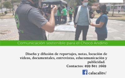Fortalecimiento del Canal Calacalí TV