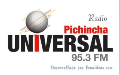 Entrevista en la radio Pichincha Universal